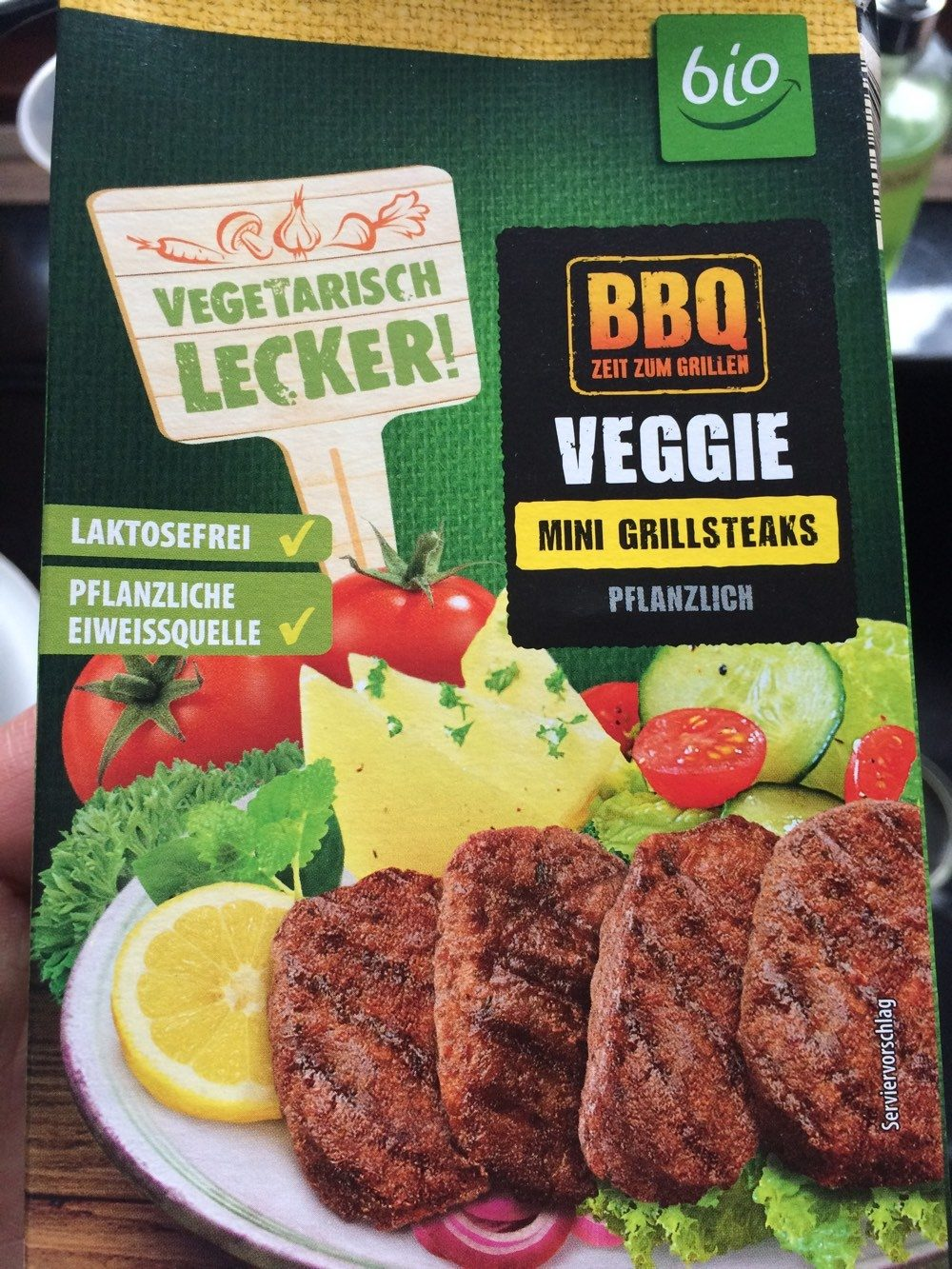 Veggie Mini Grillsteaks - Product - de