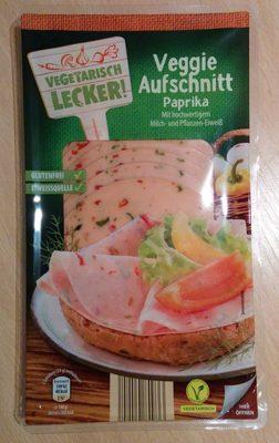 Veggie Aufschnitt Paprika - Produit