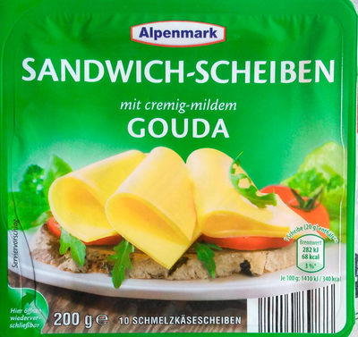 Sandwich-Scheiben Gouda - Produkt