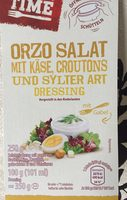 ORZO SALAT MIT KÄSE, CROUTONS UND STYLER ART DRESSING - Produit - fr