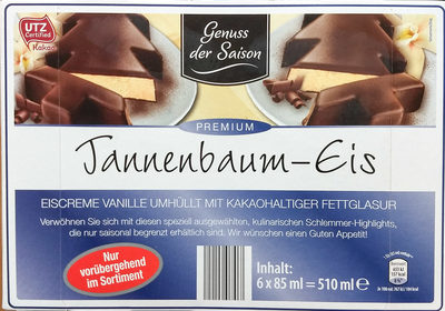 Tannenbaum-Eis - Produkt