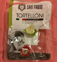 Tortelloni ricotta e spinaci - Produit - de