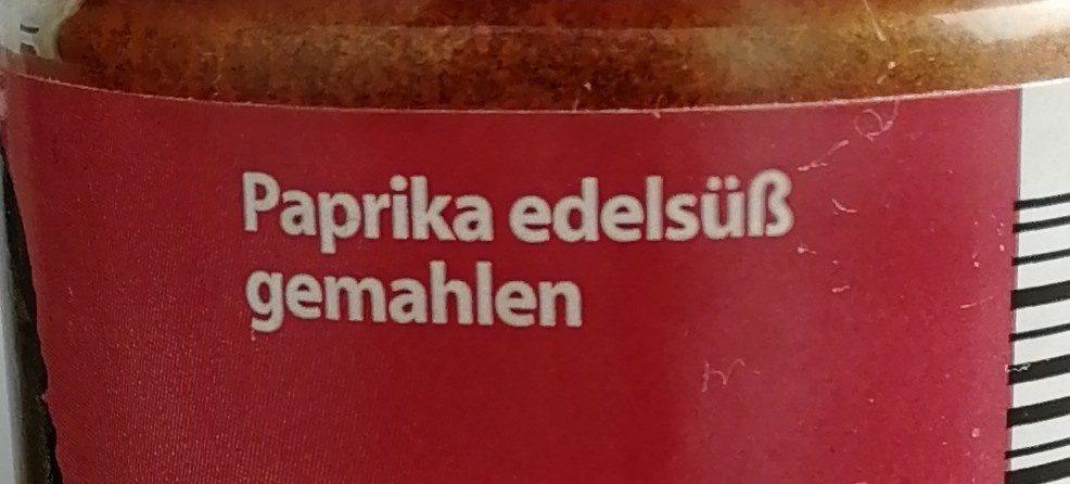 Paprika Edelsüß gemahlen - Ingrédients
