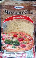 Alpenmark Mozzarella Gerieben - Product
