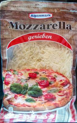 Mozzarella gerieben - Produkt