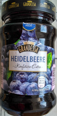 Heidelbeere Konfitüre Extra - Produkt