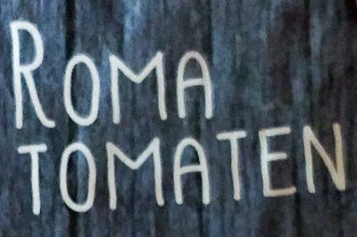 Roma Tomaten - Inhaltsstoffe