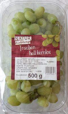 Trauben hell kernlos, Sorte: Itumfour - Produit - de