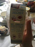 Frühstücksbecher, Joghurt Mit Roter Grütze Und Müs. .. - Produit - de