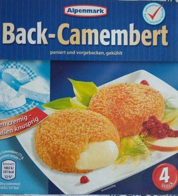 Alpenrand Back camembert - Product
