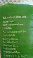 Mini Maiswaffeln - Ingredients
