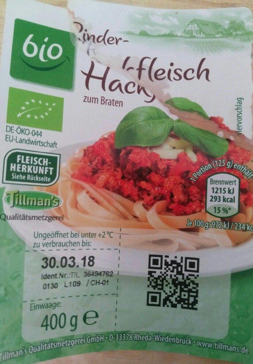 Müller Fleisch Bio Rinderhackfleisch - Product
