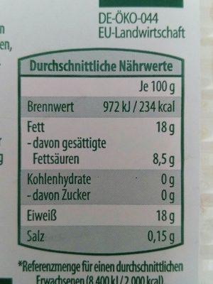 Müller Fleisch Bio Rinderhackfleisch - Ingredients