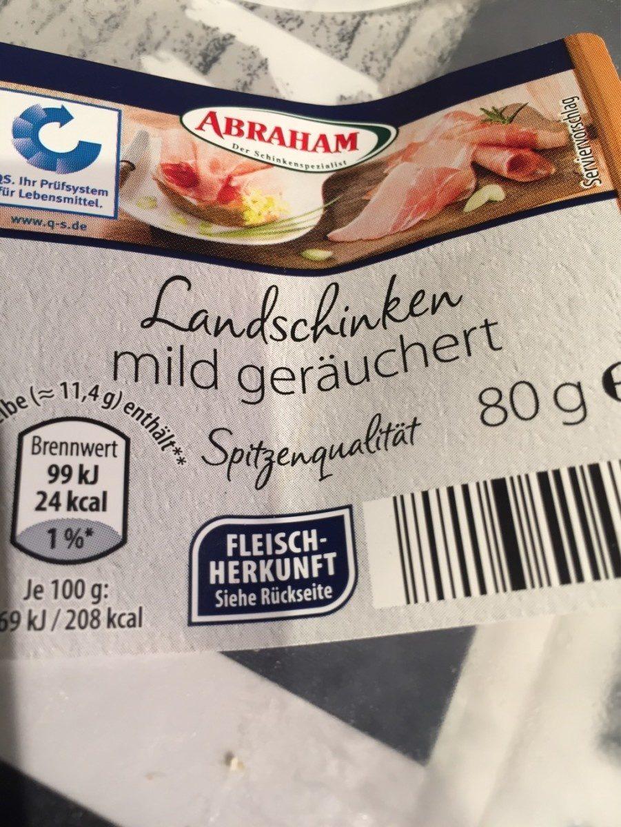 Abraham Bauernschinken Luftgetrocknet - Produit - fr
