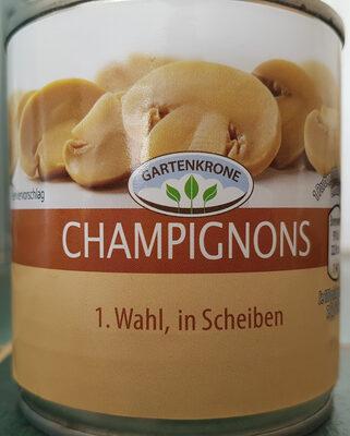 Champignons erste Wahl in Scheiben - Produit - de