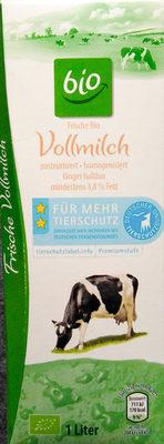 Frische Bio Vollmilch - Produkt