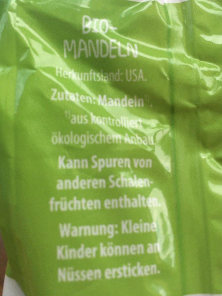 Mandeln - Ingrediënten - de