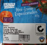 Mini-Roma-Rispentomaten - Ingredients - de