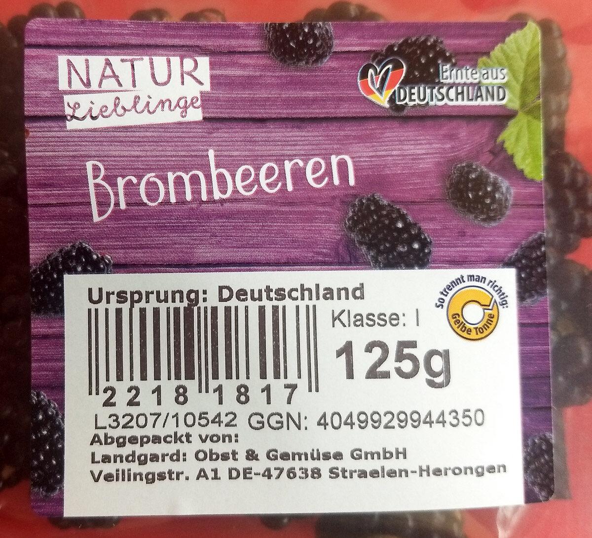 Brombeeren - Produit - de