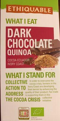 Dark Chocolate Quinoa - Product