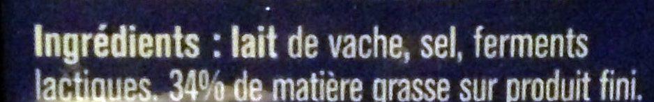 Meule Belmontoise - Ingrédients