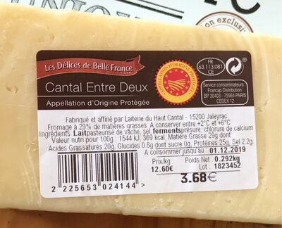 Cantal - Product - fr