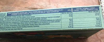 Le petit normand - Informations nutritionnelles