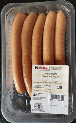Chipolatas de poulet - Produit - fr