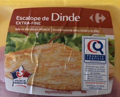 Escalope de Dinde Extra -fine - Product - fr