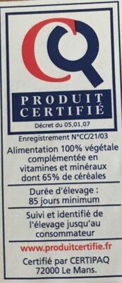 Escalopes de dinde ultra fines - Informations nutritionnelles - fr