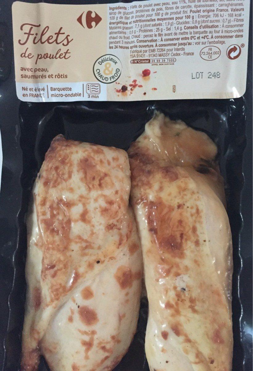 Filet de poulet - Prodotto - fr