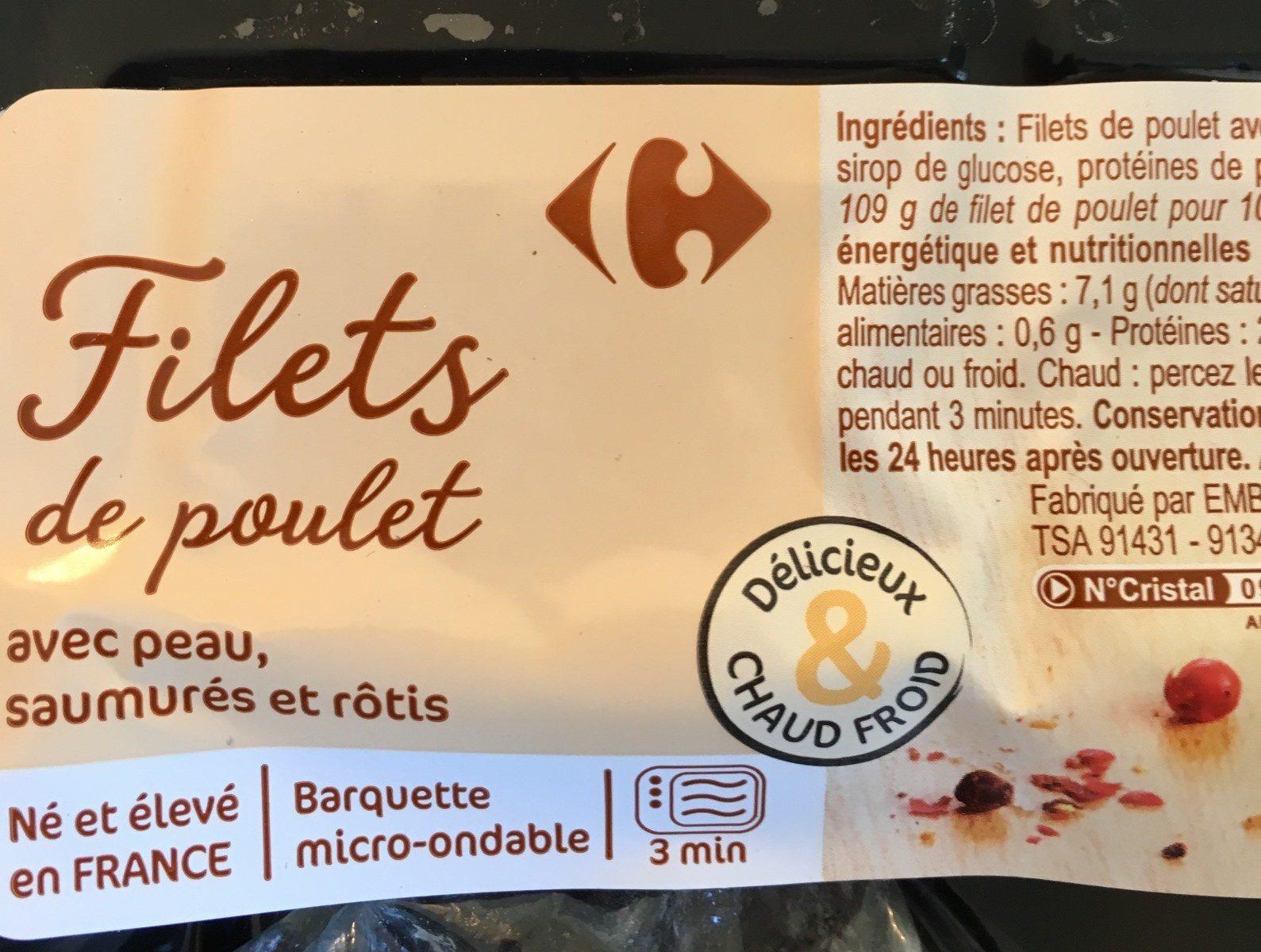 Filets de poulet - Prodotto - fr