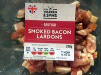 Smoked bacon lardons - Product