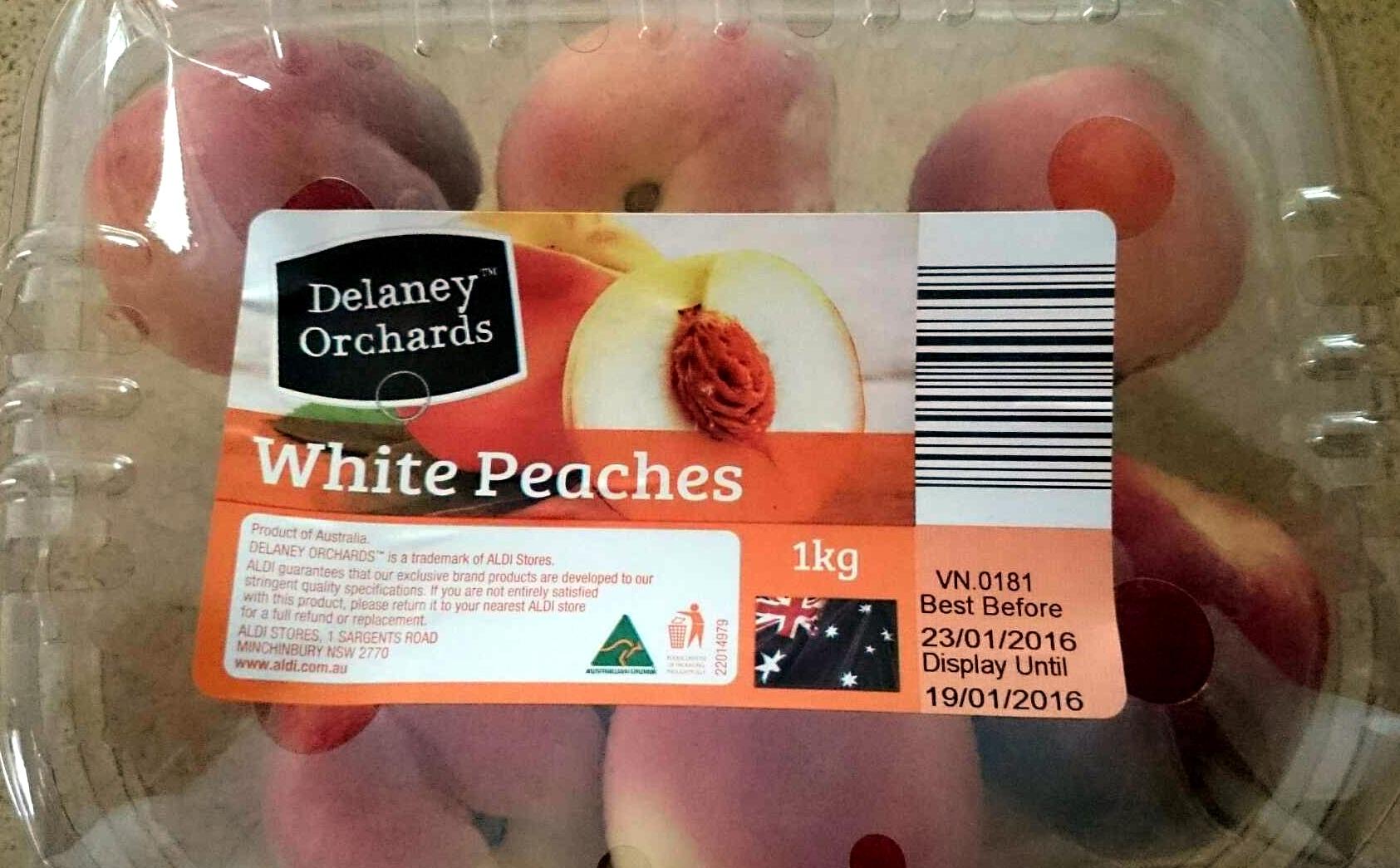 White Peaches - Product