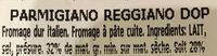 Parmigiano - Ingrédients - fr