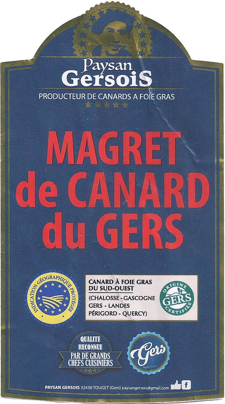 Magret de canard du Gers - Produit - fr