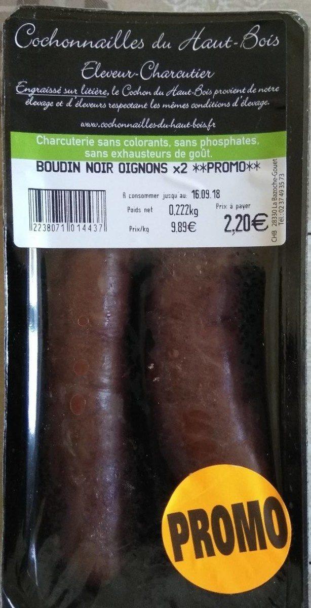 Boudin noir oignon - Product - fr
