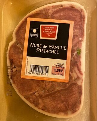 Hure de langue pistachée - Product - fr