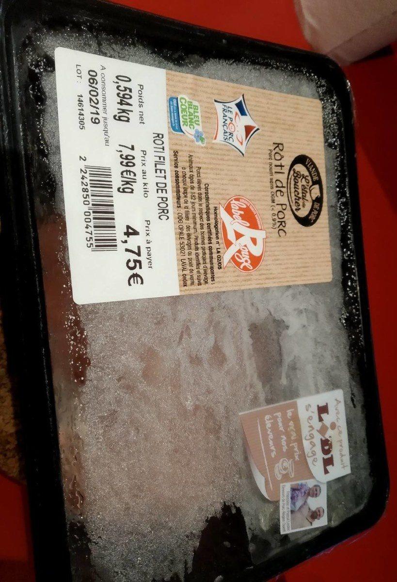Roti de porc - Product