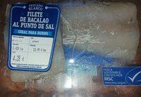 Filete de bacalao al punto de sal - Producto - es