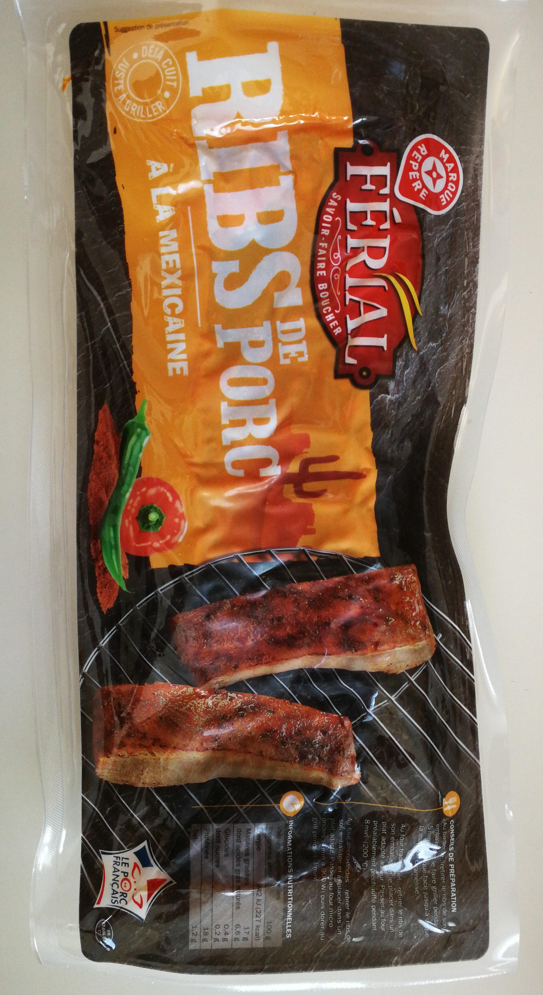 ribs de porc à la mexicaine - Produit - fr