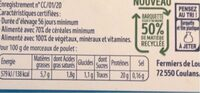Open field chicken - Nutrition facts - en