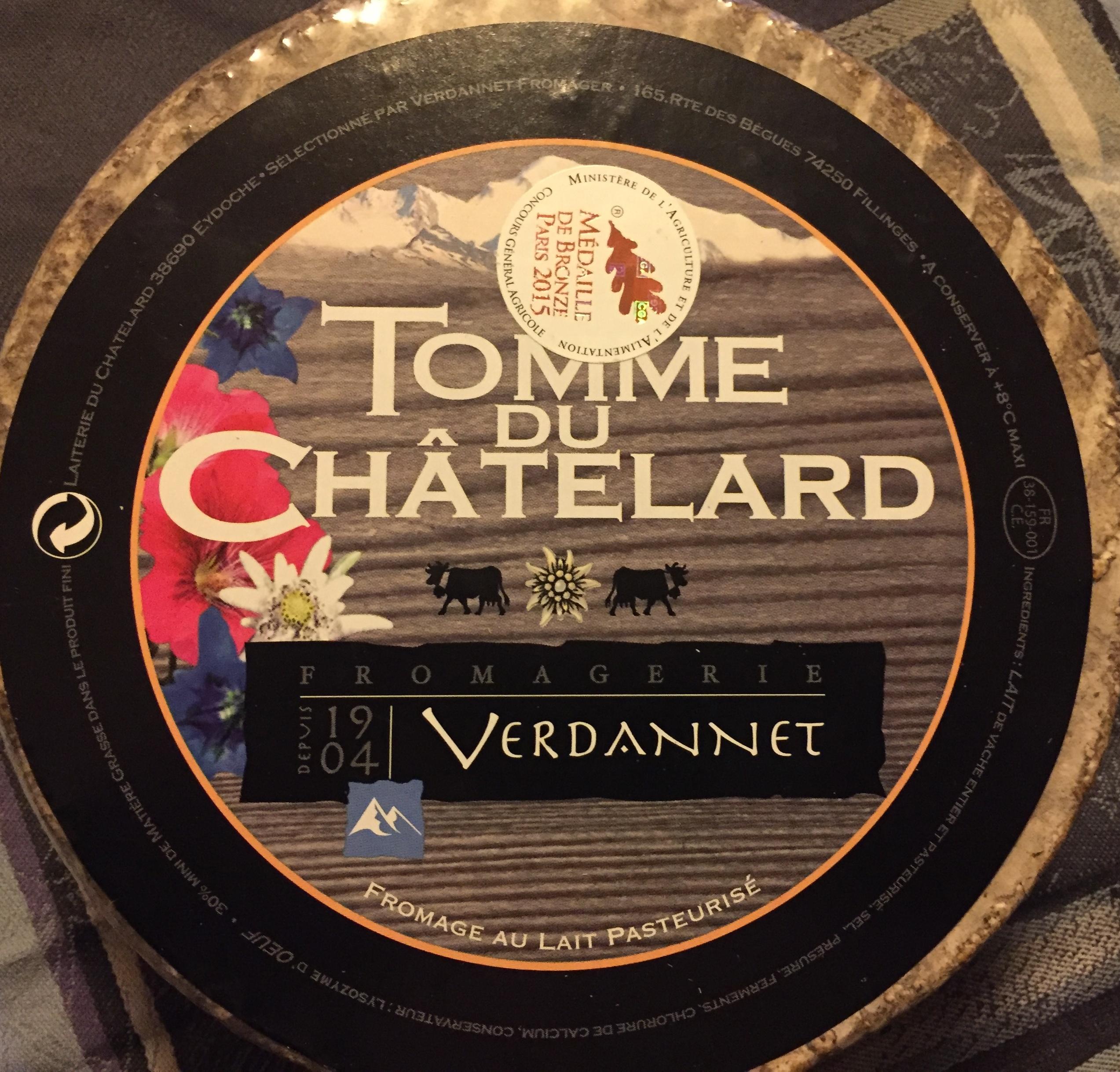 tomme du Chatelard - Produit - fr