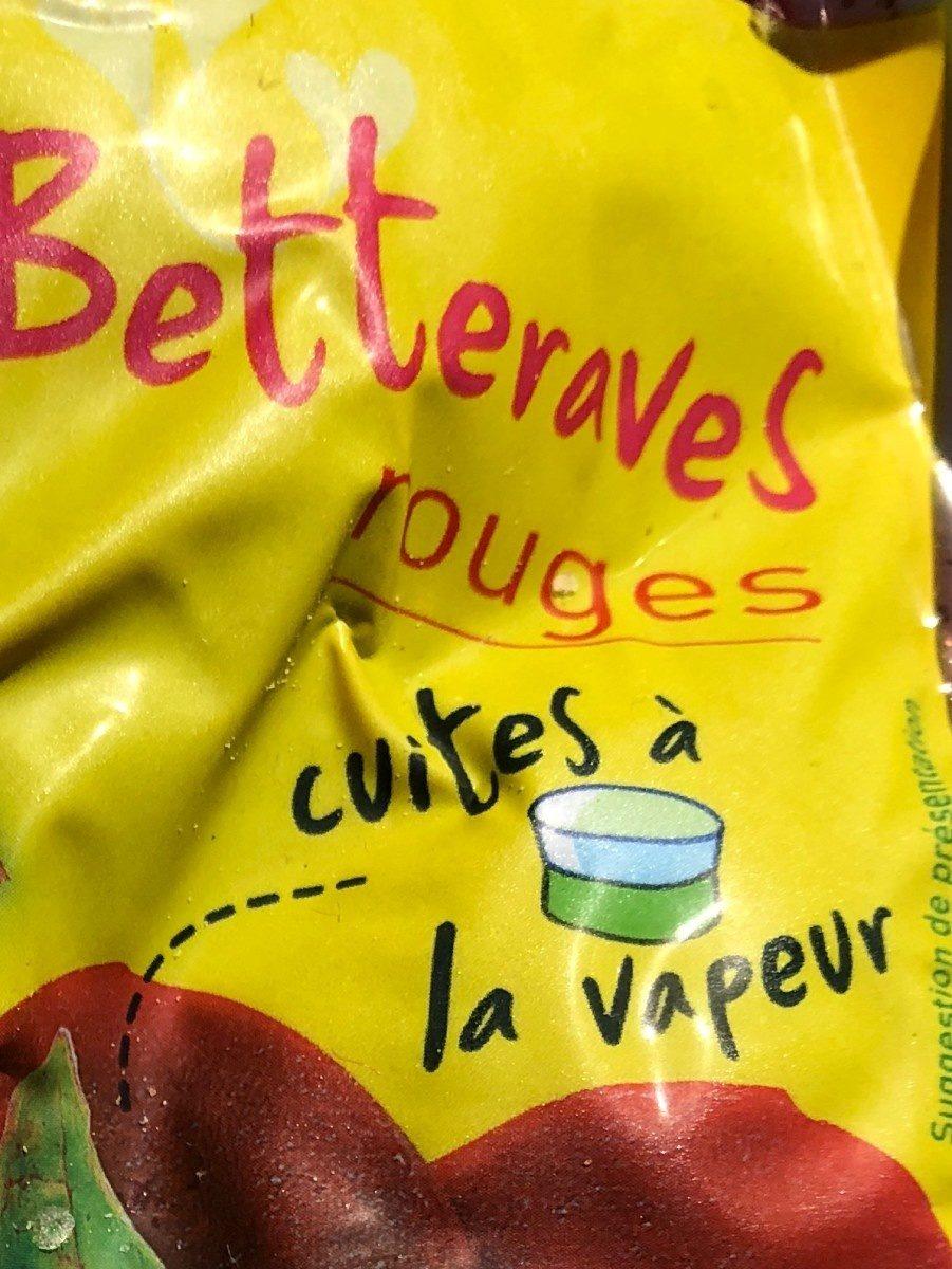 Betteraves rouges cuites à la vapeur - Ingredienti - fr