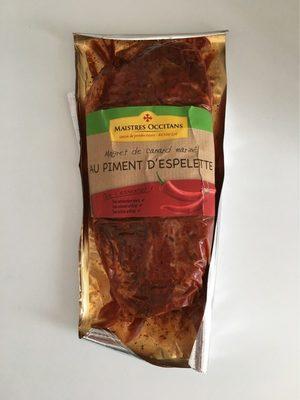 Magret de canard mariné au piment d'espelette - Product - fr