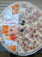 Pizza jambon emmental - Product