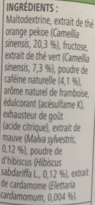 Boisson instantanée - Ingredienti - fr