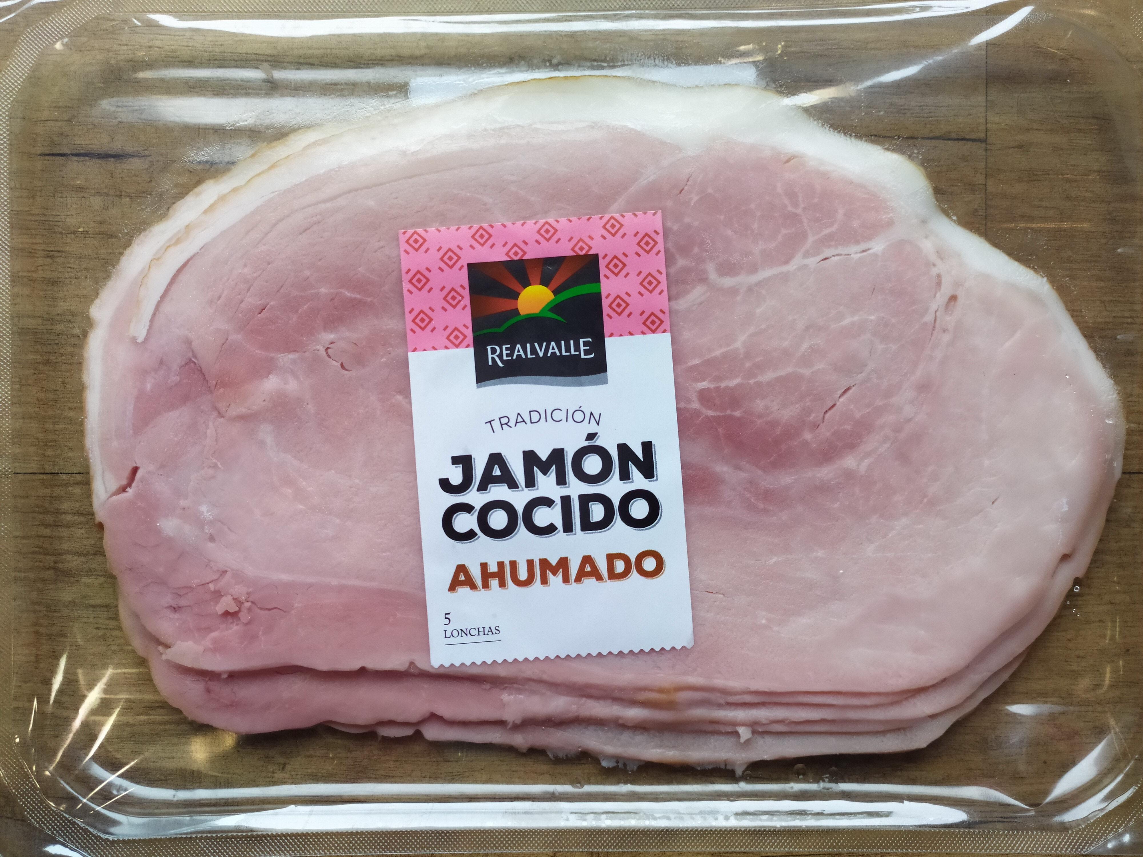 Jamón cocido ahumado - Producte - es