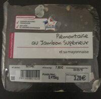 Piemontaise au jambon superieur et sa mayonnaise - Produit - fr