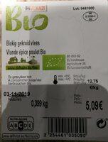 Viande épice poulet bio - Product
